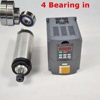 HOT 1.5KW WATER COOLED SPINDLE MOTOR ER16&VFD DRIVE INVERTER CNC MILL ENGRAVING