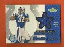 EDGERRIN JAMES - 2001 Score Franchise Fabrics #FF-14 Jersey - Colts