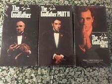 The GodFather vhs part I, Ii, & Iii