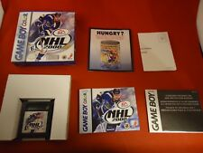 NHL 2000 (Nintendo Game Boy Color, 1999) COMPLETE w/ Box manual game WORKS!