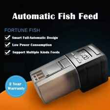 Mini Auto Fish Feeder Aquarium Food Automatic Timer Feeding Dispenser Adjustable