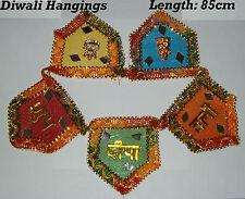 Diwali Toran Shubh Deepawali Laxmi Ganesha Auspicious Puja Door Wall Hanging