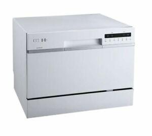 "EdgeStar DWP62WH - 22"" Wide Countertop Dishwasher Dishwashers White"