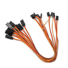 10Pcs 300mm Extension Servo Wire Lead Cable For RC Futaba JR Male to Female 30cm