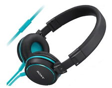 Sony High Quality Zx610ap Headphones With Smartphone Control and Mic - Blue