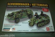 Lindberg SCHWIMMWAGEN & Kettenkrad 1:72 scale kit