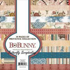 PROVENCE Collection Scrapbooking 6x6 Paper Pad Bo Bunny 36 Pages BoBunny NEW