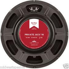 "Eminence Private Jack 12"" British Tone Guitar Speaker 16 ohm FREE SHIPPING!"