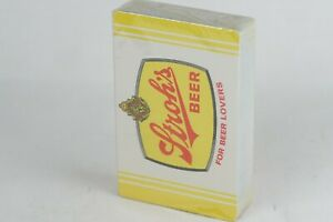 Stroh's Beer, Beer For Lovers Vintage Advertising Stroh's Beer Playing Card Deck