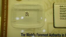 GIA Cert 0.22ct PRINCESS diamond NATURAL LIGHT PINK, SI-2. Sealed.