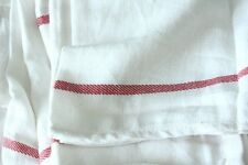 Cotton Dish Flour Sack Towel French Stripe Dinner Napkin Hotel BUY 5,GET 1 FREE