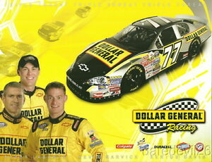 2007 Kevin Harvick/Bobby Labonte Dollar General Chevy NASCAR Busch postcard