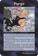 ILLUMINATI:New World Order-Steve Jackson-Lot 230-1 Card