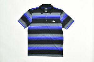 Adidas Men's Adult Size M Polo Golfing Black