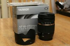 Tamron AF 18 - 270mm F 3.5 - 6.3 Di II VC (for Canon) -- excelent condition