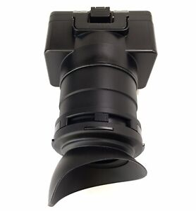 Sony ILCA-FX6 FX6 Viewfinder Eyecup Block Loupe To Use With Mod