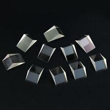 10PCS Optical Triangular Glass Prism For Optics Light Science Experiment