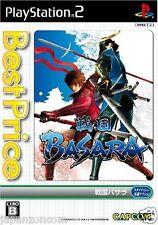 Used PS2 Sengoku Basara  Capcom SONY PLAYSTATION JAPAN IMPORT
