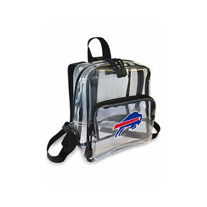 "Football Buffalo Bills Mini Clear Stadium Backpack 10"" x 3"" x 8"" Licensed"