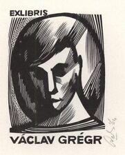 Ex Libris Cees Andriessen : Václav Grégr