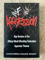 Vintage WWF WWE Aggression Cassette Tape Soundtrack Stone Cold HHH Method Man