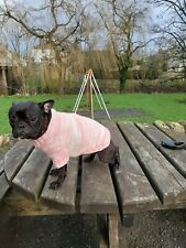 Design French Bulldog M Jacket Frenchie Jumper Puppy Winter Coat hand knitted