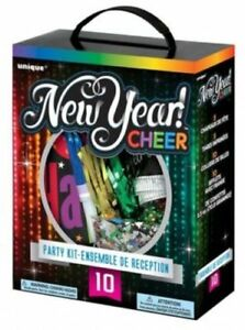 New Years Eve Cheer Party Kit For 10