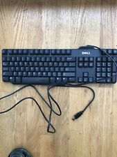 Dell Wired Black USB Keyboard RT7D50