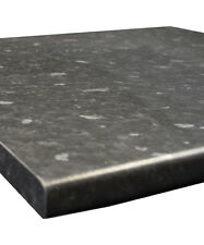 Black Slate/Granite Matt laminate Kitchen Worktop 30mm by Oasis
