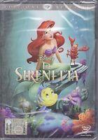 Dvd Disney **LA SIRENETTA 1** nuovo 1990