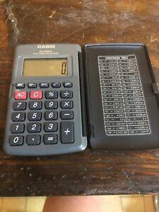 Calculette De Poche Casio HL-820LC