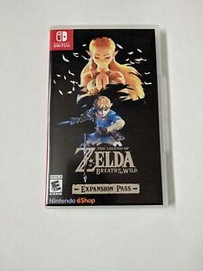 Legend of Zelda Breath of the Wild Expansion Pass Display Switch Game Case