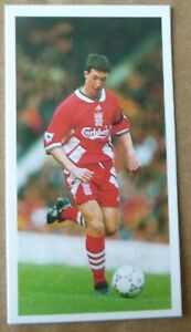LIVERPOOL ROBBIE FOWLER ROOKIE BARRATT PREMIER PLAYERS FOOTBALL CARD 1994
