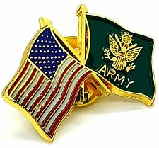 Usa American Us Army Flag Military Veteran Hat Pin