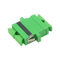 100pc SC APC SM Duplex Fiber Optic Adapter SC/APC Flange Coupler Adaptor