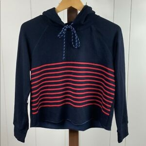 SUNDRY Goop NWT Women's Size 0 Cropped Midnight Hoodie