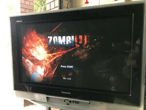 """Panasonic 32"""" / 76cm CRT TV - does up to 1080i resolution, With HDMI Convertor"""
