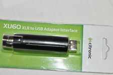 173-602 XLR A USB Adattatore Interfaccia. Bilanciato Microfono-formato audio digitale