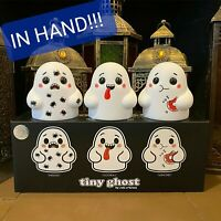 💥💥 IN HAND - LE 400 Bimtoy Tiny Ghost 3 Inch Vinyl Figures Doodles [3 Pack] 💥