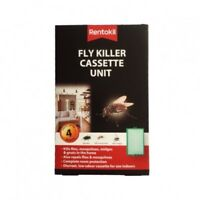 Fly Killer Cassette Rentokil for Flies, Mosquitoes, midges and gnats in the home