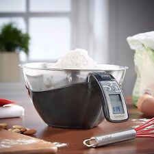 VonShef Bowl Electronic Digital Kitchen Food Scale Balance 11lbs/5kg Capacity