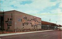 Postcard Fresno Air Terminal, Fresno, CA