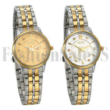 Roman Numerals Simple Dial Bracelet Analog Quartz Wrist Watch for Womens Ladies