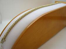"Yellow Gold 14 Carat Fine Diamond Bangles 7.5 - 7.99"" Length"