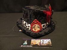 Disney Parks Cruella De Vil Mini Top Hat Adult Villain Halloween Cosplay Costume