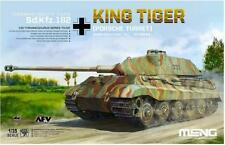 Meng Model 1/35 TS-037 German Sd.kfz.182 King Tiger Porsche Turret