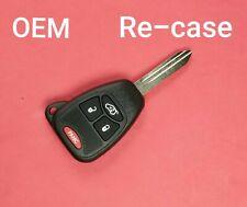 Unlocked Re-Cased OEM Jeep Dodge Remote Head Key Keyless Entry 4B OHT692713AA