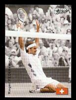 "ROGER FEDERER 2003 ""1ST EVER PRINTED"" NETPRO TENNIS ROOKIE CARD! WIMBLEDON!"