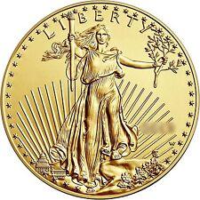 RANDOM YEAR 1/2oz Gold American Eagle $25 BU