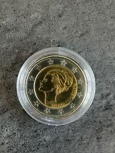 2 EURO MONACO GRACE KELLY 2007 - PROBE ESSAI Trial avec CAPSULE